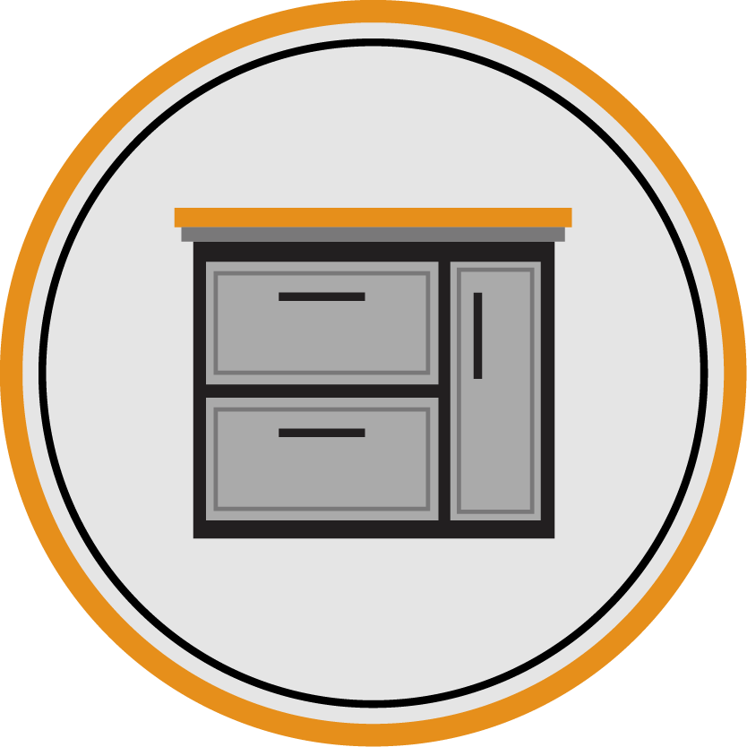 Comptoirs de cuisine et de salle de bain